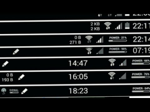 HOW TO CHANGE BATTERY ICON/NETWORK ICON ANY LYF DEVICE
