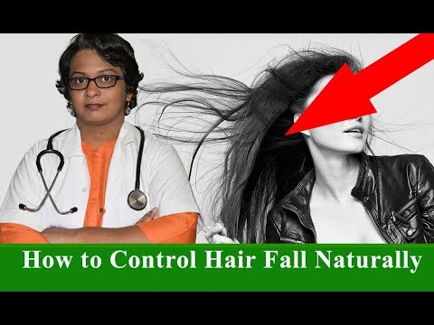 How to Control Hair Fall Naturally (Men & Woman) by Dr. Wagh