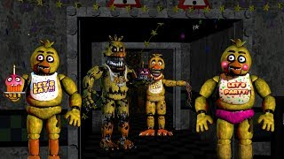 CHICA SIMULATOR - FNAF 1 + 2 + 3 + 4!! | Fan Choice Friday