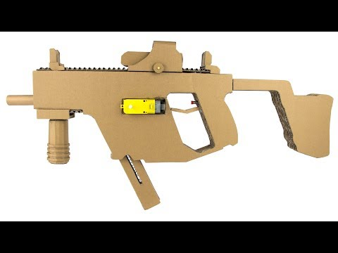 How To Make Cardboard Kriss Vector - Full Auto