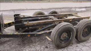 Nedland EZ Roll Off Dumpster Trailer-