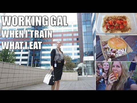 REALISTIC FULL DAY OF EATING / DAY IN THE LIFE | BALANCING 9-5 JOB, TRAINING, FOOD & SOCIAL LIFE