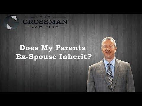 Does My Parent's Ex-Spouse Inherit?