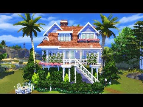 REFÚGIO PRAIANO (BEACH HOUSE) │The Sims 4 (Speed Build)