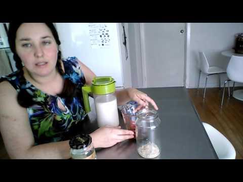 Almond milk kefir. No dairy required.