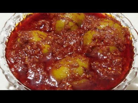 stuffed mango pickle||ડાબલા કેરી નું અથાણું બનાવવાની રીત