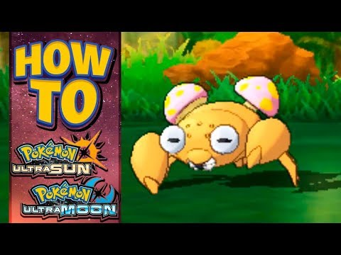 HOW TO GET Paras in Pokemon Ultra Sun and Moon