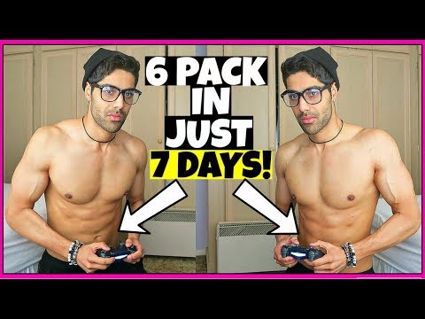 HOW TO GET A 6 PACK IN 1 WEEK (FAST RESULTS!!)
