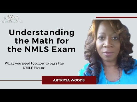 Understanding the Math for the NMLS Exam