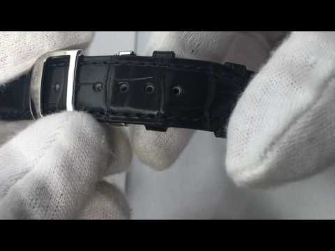 Camille Fournet Watch Strap Review Blue Alligator Leather