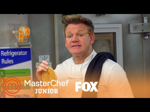 Gordon Helps The Kids Make A Proper Pancake | Season 6 Ep. 8 | MASTERCHEF JUNIOR