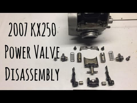 How To: 2007 KX250 Power Valve Disassembly