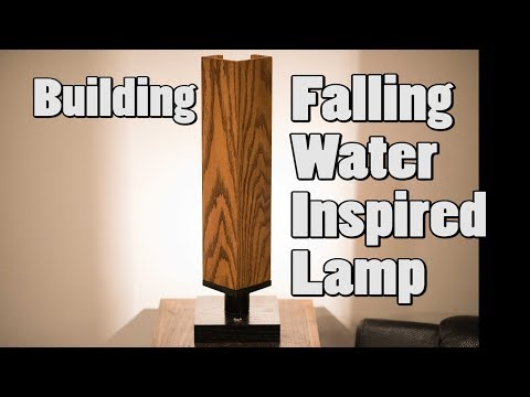 Building a Falling Water Inspired Lamp