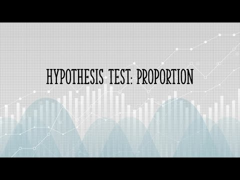 Hypothesis Test for a Proportion