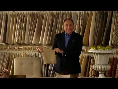 Decorating: Selecting Sofa Fabrics.