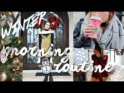 WINTER MORNING ROUTINE 2016 | Winter Break Edition