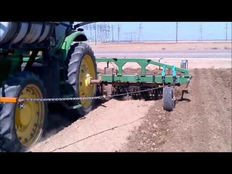 3 Row 80 Pre-Plant Cultivator