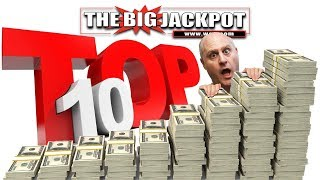 ✦ TOP 10 BEST & BIGGEST JACKPOTS ✦ MAY 2018