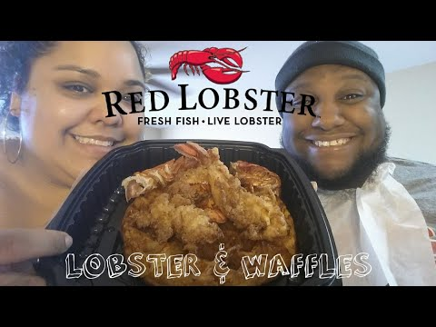 Red Lobster Lobster and Waffles Food Review