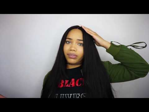 MY FAVORITE HAIR Ms  Here Virgin Hair DETAILED Review Indian straight virgin hair with clsoure