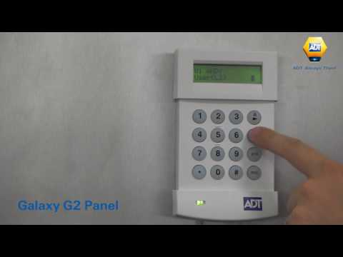 How to change a master code - Galaxy G2 Panel - ADT UK