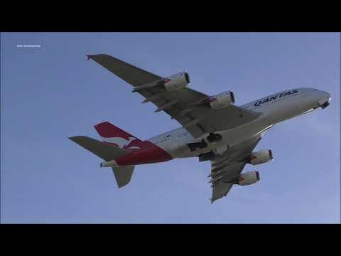 Heavy Takeoffs Sydney Airport