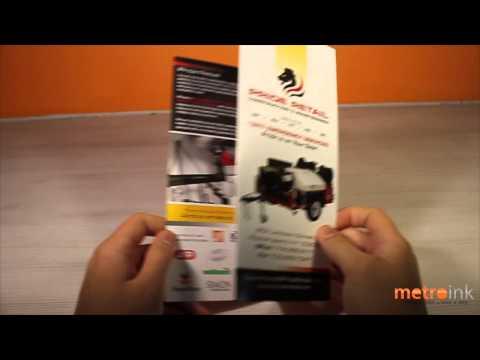 Metroink Accordion Fold Brochure Pride Retail