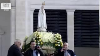 Missa Solene A Nossa Senhora De Fátima Desde A Esplanada Do Santuário De Fátima 01.04.2018