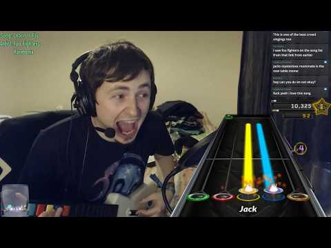 Learn To Fly but Dave Grohl lets the crowd sing | Clone Hero