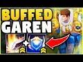 YOU WON'T BELIEVE HOW STRONG THE NEW GAREN BUFFS ARE! (GOD-TIER TOP LANER) - League of Legends