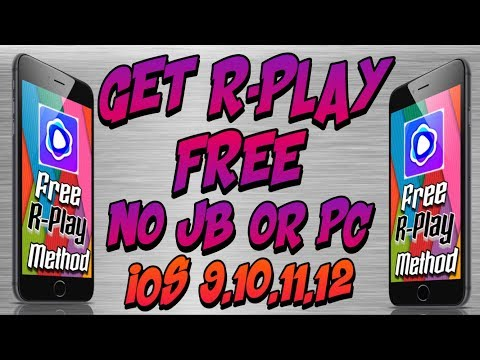HOW TO GET RPLAY FREE (No jailbreak/pc) Play PS4 on iPhone,iPod & iPad iOS 9,10,11,12