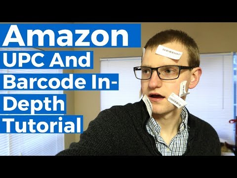 Amazon UPC Code And Barcodes - In-Depth Tutorial + Where To Buy Them
