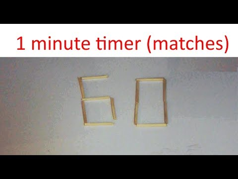 1 minute timer -- Matches