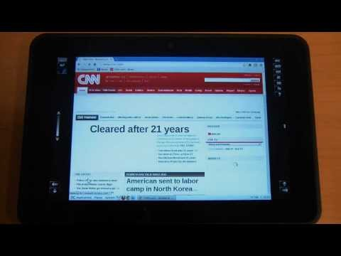 Use Chrome Web Browser on AlwaysOnPC for Amazon Kindle Fire