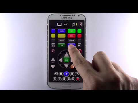 TouchSquid Universal Remote for S4 and HTC One