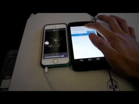 [UA201] United inflight wifi streaming Movie & TV test HD with iPhone5s and Nexus 5