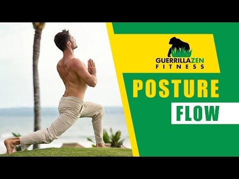Bodyweight Exercise Flow for Posture