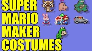 Creepy Mario, Cat Mario & Peach, Fighter Fly and Nekki Costume