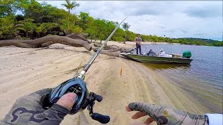 Fishing an Untouched Beach in the Amazon Jungle!!! (EP.1)
