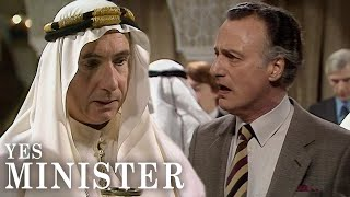 Getting Drunk at The Official Meeting | Yes Minister | BBC Comedy Greats