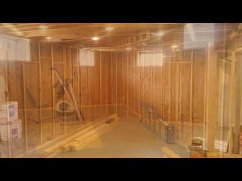 Basement framing & drywall