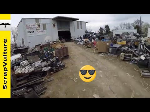 SCRAP YARD ACTION - 6 Runs to the Yard as I Need BREATHING Room!