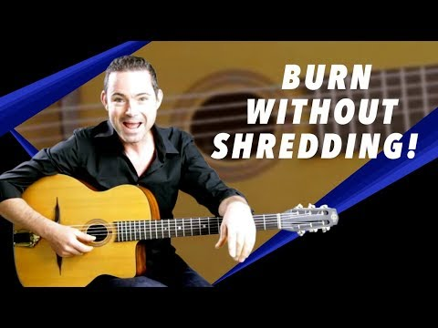 How To Burn At Fast Tempos Without Having To Shred - Gypsy Jazz Guitar Secrets Lesson