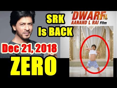 SRK New Next Film Title Is ZERO I Releases On December 21, 2018