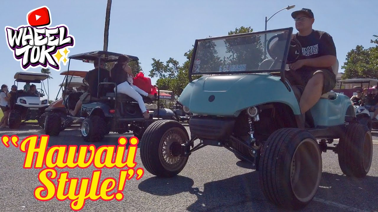 Ope!✨Crazy Carts! The First Annual Maniac Kart Club Toy Drive & Cart Cruise/Show 808Cartelz Hawaii