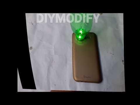 DIY AMAZING USB BOTTLE LIGHT LAMP