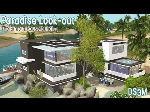 The Sims 3 - House Building - Paradise Look-out