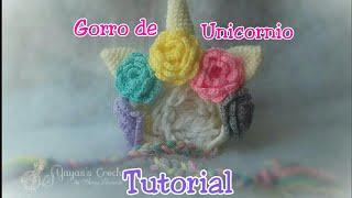 Unicornio Amigurumi - Patrón Escrito - YouTube | 180x320