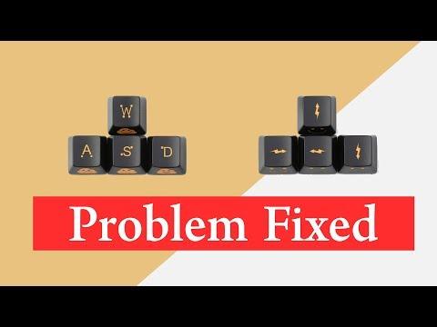 [Fixed] WASD Keys Swapped with Arrow Keys Windows 10