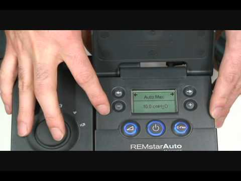 How To Change The Pressure of a Respironics M Series PAP Machine